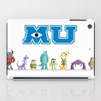 Pixel Monsters University iPad Case