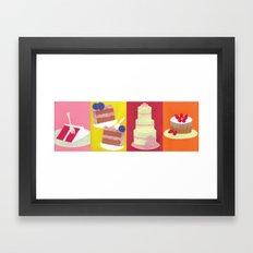 Cakes Framed Art Print