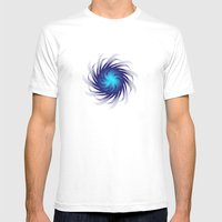 Circular Study No. 399 Mens Fitted Tee White SMALL