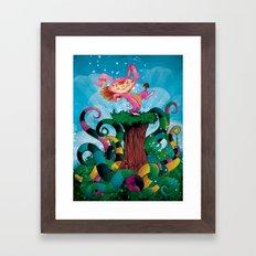 sTROLL Framed Art Print