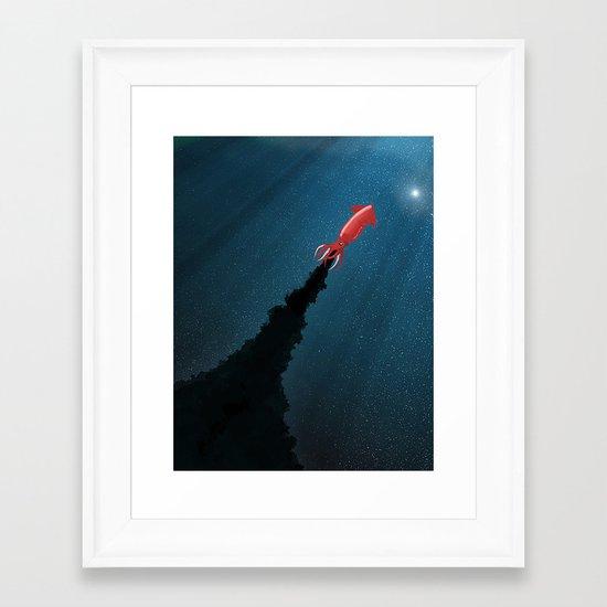 Octonaut Framed Art Print