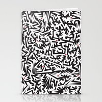 Love labyrinth Stationery Cards