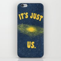 It's Just Us. iPhone & iPod Skin