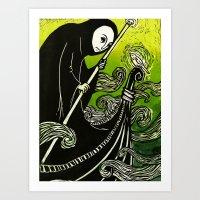 Charon Art Print