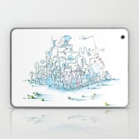 Scientist Frog Laptop & iPad Skin