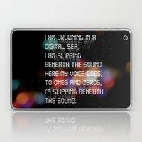 Drowning in the Digital Sea Laptop & iPad Skin