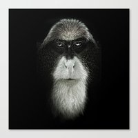 Debrazza's Monkey Square Canvas Print