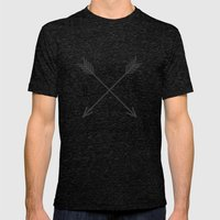 WHAT Compass? Mens Fitted Tee Tri-Black SMALL