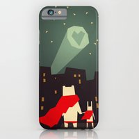 city iPhone & iPod Cases featuring The city needs love by Yetiland
