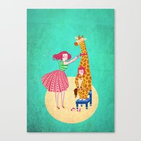 Nothing Like Being 6 To … Canvas Print