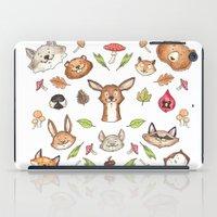 Woodland Kaleidoscope iPad Case