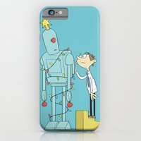 iPhone & iPod Case featuring Robot Tree by The Drawbridge