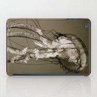 Jellyfish B&W iPad Case