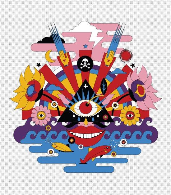 J-pop Canvas Print