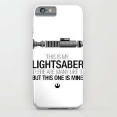 This is my Lightsaber (Luke Version) iPhone 6 Slim Case