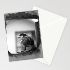 a sparrow Stationery Cards