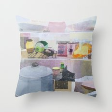 Starving Artist (M.C) Throw Pillow