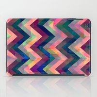 Painted Chevron iPad Case