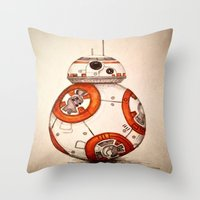 BB-8 Throw Pillow