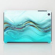 Fractal Wave iPad Case