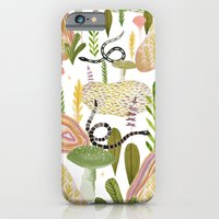 iPhone Cases featuring Botanical Garden by Esthera Preda