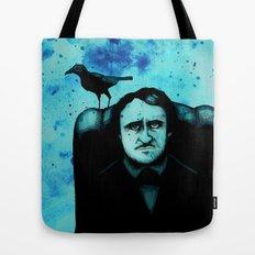 Edgar Allan Crow Tote Bag