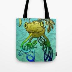 Psychoactive Frog Tote Bag