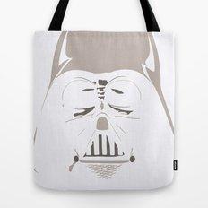 Ghost Darth Vader Tote Bag