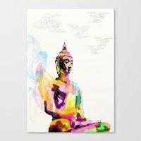 Keep Quiet Canvas Print