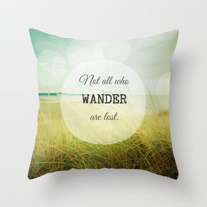 Jade Throw Pillows : Wander Throw Pillow by Olivia Joy StClaire Society6