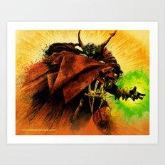 Hellspawn Art Print