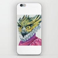 Ruffled Feathers iPhone & iPod Skin