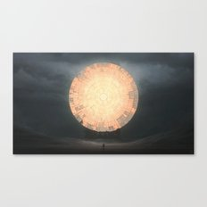 The Sun Canvas Print