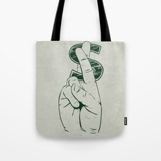 In Cash We Trust. Tote Bag