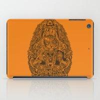 kill the tiger iPad Case