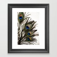 Feathered Framed Art Print