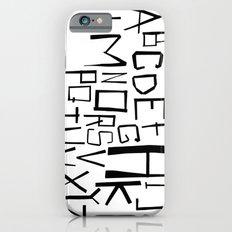 Alphabet #2 Slim Case iPhone 6s