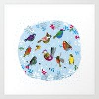 birds_3 Art Print