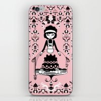 Lady Cake iPhone & iPod Skin