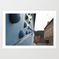 Sideways Art Print