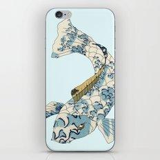 Koi japanese fish number two iPhone & iPod Skin