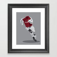 Arsenal 2001/02  Framed Art Print
