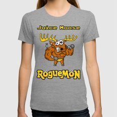 Juice Moose Womens Fitted Tee Tri-Grey SMALL
