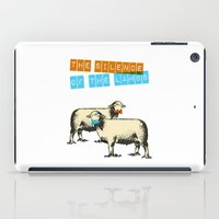 The silence of the lambs iPad Case