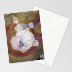 Toy Poodle Stationery Cards