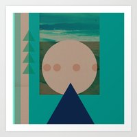 Rayleigh Scattering Art Print