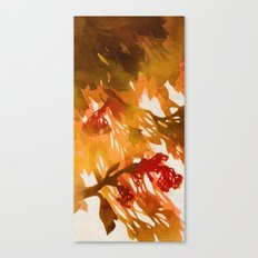 Morning Blossoms 2 - Red Variation Canvas Print