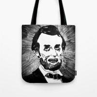 16. Zombie Abraham Linco… Tote Bag