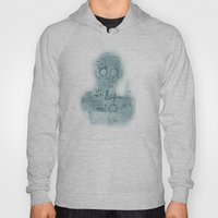 Robot In Blue Hoody