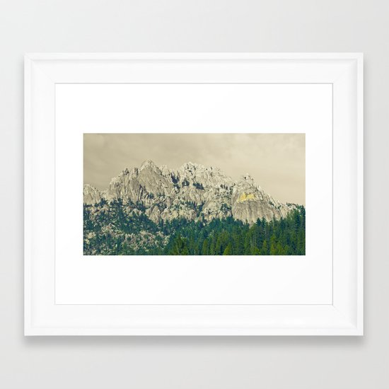 Castle Crags - California Framed Art Print